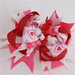 """Super Loopy Stacked Bows - """"Love"""""""
