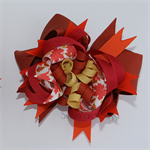 "Super Loopy Stacked Bows - ""Autumn Leaves"""