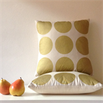 Spot of gold, cushion cover