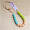 Silicone Teething Necklace - A Touch of Spring