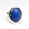 Denim Lapis Gemstone Adjustable Ring