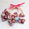 Pair of Anna and Elsa hair bows (Elastic/Tie)