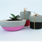 Trio - Large Succulent Planter PLUS Two Tealight Holders - Urban Decor
