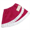 Raspberry pink and white corduroy and lace skirt. Sizes 1-10