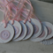 12 Pink Button Gift Tags ~ Flower Tags ~ Baby Shower Tags ~ Party Favour