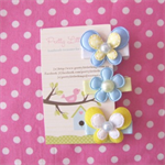 Baby Hair Clips Set Sunshine