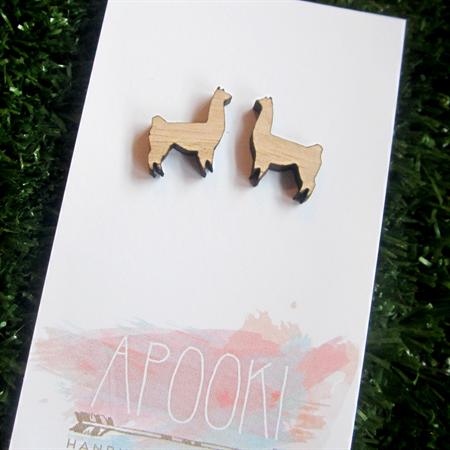 Buy 3 get 4th FREE Tas Oak Alpaca Earrings