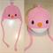 SIZE 6-12mths Pink Birdie Beanie