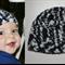 SIZE 6-12mths Boys Chunky Multi colour Crochet Beanie