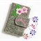 Sakura - Business Cards holder, name cards wallet, pure wool felt, Perth