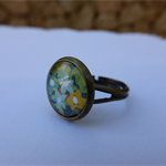 Retro Floral Ring (small)