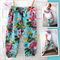 Perfect Baby Girl Harem Pants - neon, baby, girl, winter, floral, toddler