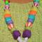 Gobledeegook Fun Necklace - Pink Heart