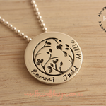 Circle of Life {sterling silver}