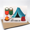 Happy Father's Day Card - Camping - HFD017