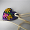 Embroidery Heart Pendant