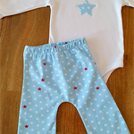 Organic Star Lounge Pants Set