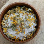 Relaxing Herbal and Salt Bath Bag, 150g