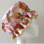 Handmade PVC & BPA FREE Shower Cap. Eco - Friendly