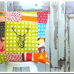 Deer Oh Deer Scatter Cushion - Stag Buck Print Throw Pillow