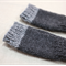 toddler fingerless gloves - charcoal grey / soft merino wool / 1-3 years