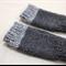 toddler fingerless gloves - charcoal grey / soft merino wool / 1-3 years