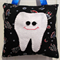 Space Tooth fairy Pillow