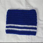 Newborn Square Crochet Baby Beanie