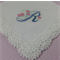 Handkerchief - Embroidered with Initial 'R'