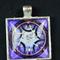 Square mandala pendant