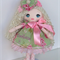 Personalised cloth doll made to order