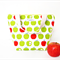 Insulated, Waterproof, Tote-Style Lunch Bag - Green Apple