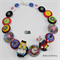 Down the Rabbit Hole - Tick Tock - Button Necklace - Earrings