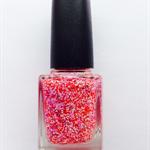 "Nail Polish ""Summer Sunrise"" Indie/Handmade Glitter  Vegan Friendly"