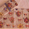 Center Table Place mat - Tea Party design - quilted - large - Set of 2