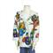 Girl's winter hooded jacket. Coat. Children's clothing.  Owls - sizes 1-6