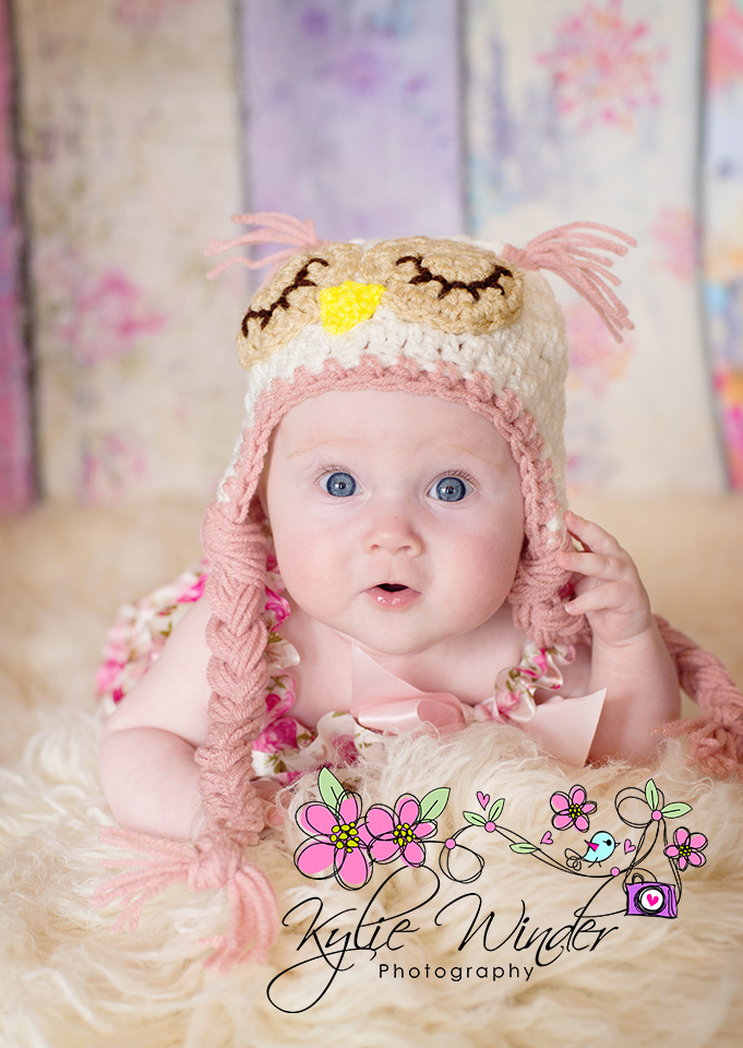 Sleepy Owl Hat   Baby Owl Beanie - Newborn to 6 Months   Photography Prop  e4bb960ae837