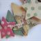 Christmas Wreath - Paper, MDF Stars