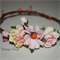 Gabby flower crown by Vintage fairy