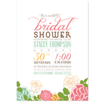 Printable Custom Bridal Shower (or any occassion) invitation - Blossom