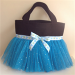 Dance bag-Princess bag- ballerina bag-  blue- tutu bag- ballet bag