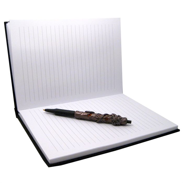 Polymer Clay Decorated Notebook / Journal / Diary and Pen Set ...
