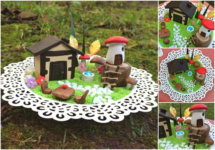 Mini Indoor Fairy Garden Kit KinderSculpt madeitcomau