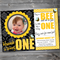 Bumble Bee Birthday Invitation Printable #B0003
