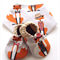 Mr Fox Baby Shoes & Bandanna Bib Gift Set