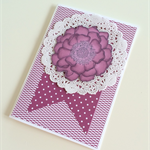 Berry Flower Card
