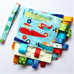PLANES SOAR Baby Security Blanket Blankie Taggie Toy+ Dummy/Sophie/Taggie Saver