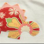 baby dino   applique onesie   girl stegosaurus