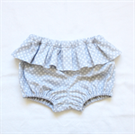 Ruffled Baby Bloomers / Skirted Nappy Cover