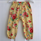 Yellow Floral Harem Pants